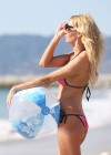Brandi Glanville - Bikini Candids on the beach in LA -26