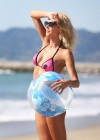 Brandi Glanville - Bikini Candids on the beach in LA -27