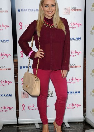 Brandy Brewer - Filippo iOco's PINK London 2014 at Gilgamesh