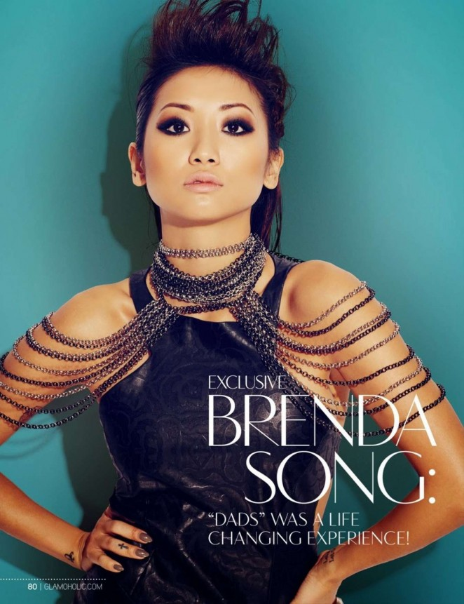 Brenda Song - Glamoholic US Magazine (March 2014)