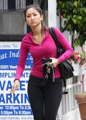 Brenda Song in Tights -08
