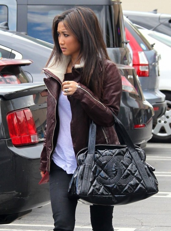 Brenda Song out in Studio City -01