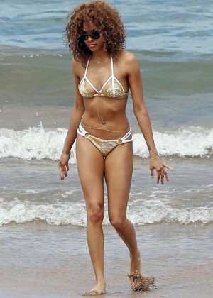Bria Murphy Bikini Photos: 2014 in Hawaii -11