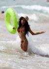 Bria Murphy in Bikini on Hawaii Beach -03