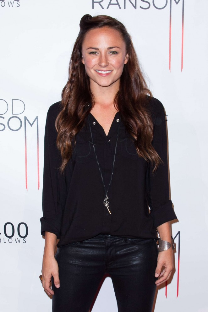 "Briana Evigan - ""Blood Ransom"" Premiere in Los Angeles"
