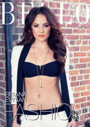 Briana Evigan - Bello Magazine (July 2014)