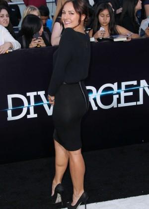 Briana Evigan: Divergent Premiere -04
