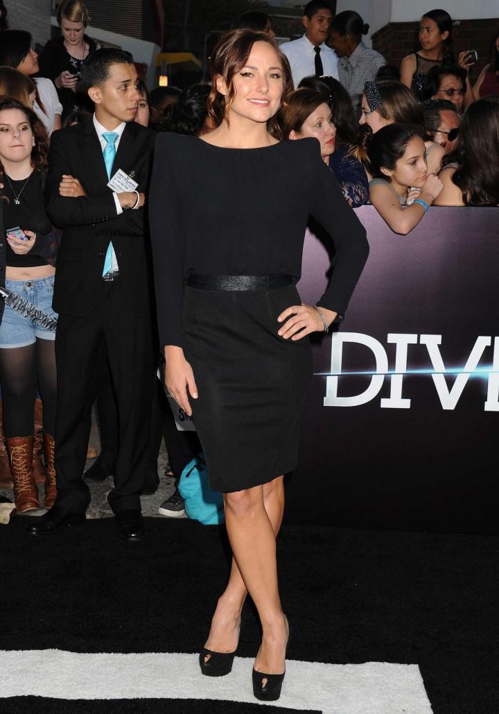 Briana Evigan: Divergent Premiere -09