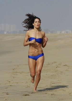 Bella Twins Bikini Photos: 2014 LA Beach -07