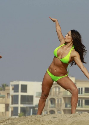 Bella Twins Bikini Photos: 2014 LA Beach -21