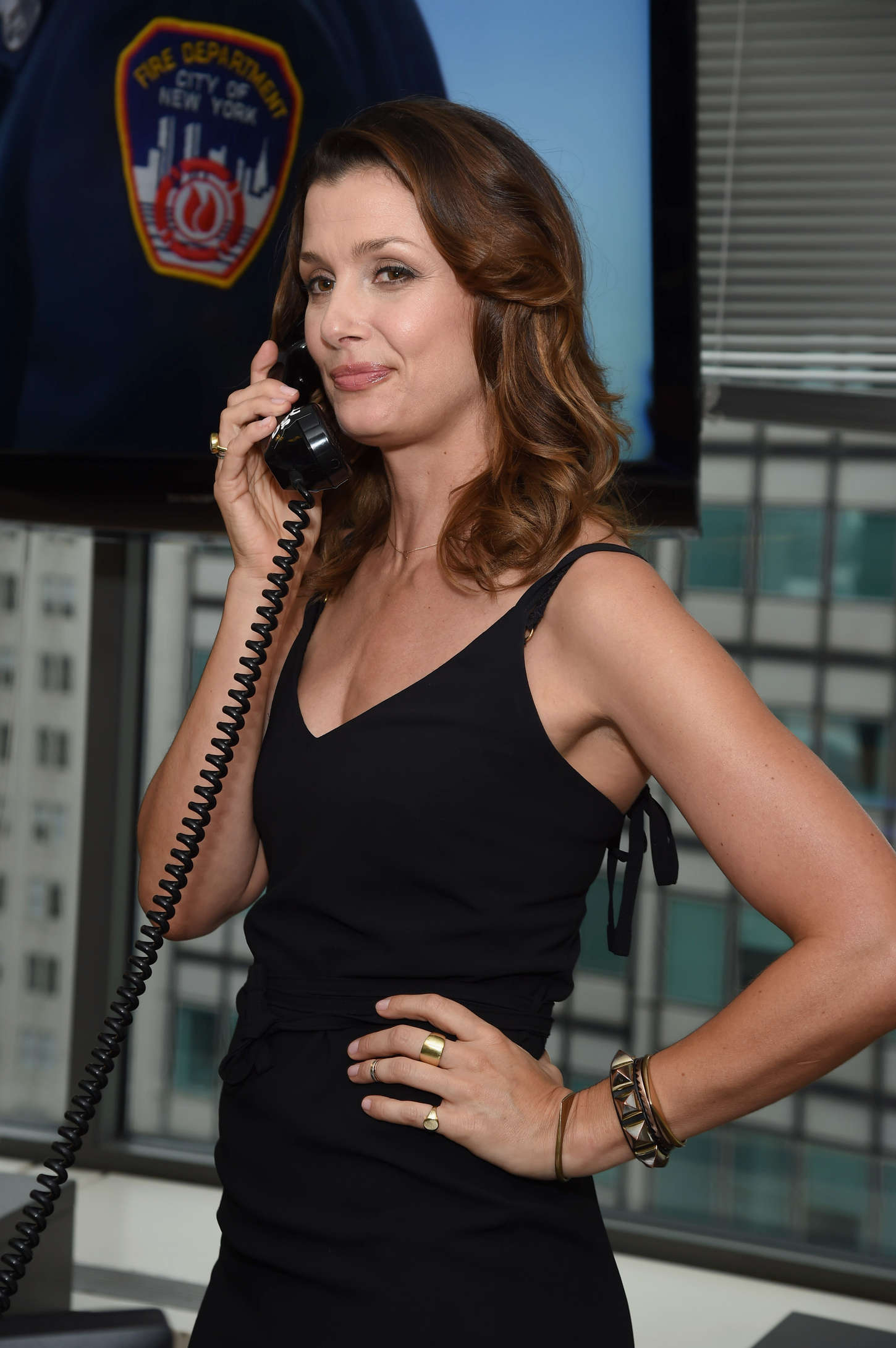 Bridget Moynahan 2014 Annual Charity Day Hosted By Cantor
