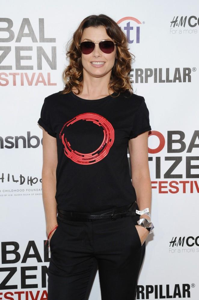 Bridget Moynahan - 2014 Global Citizen Festival VIP Lounge in NYC