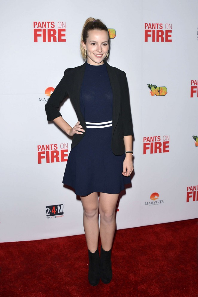 Bridgit Mendler - 'Pants on Fire' Premiere in Hollywood