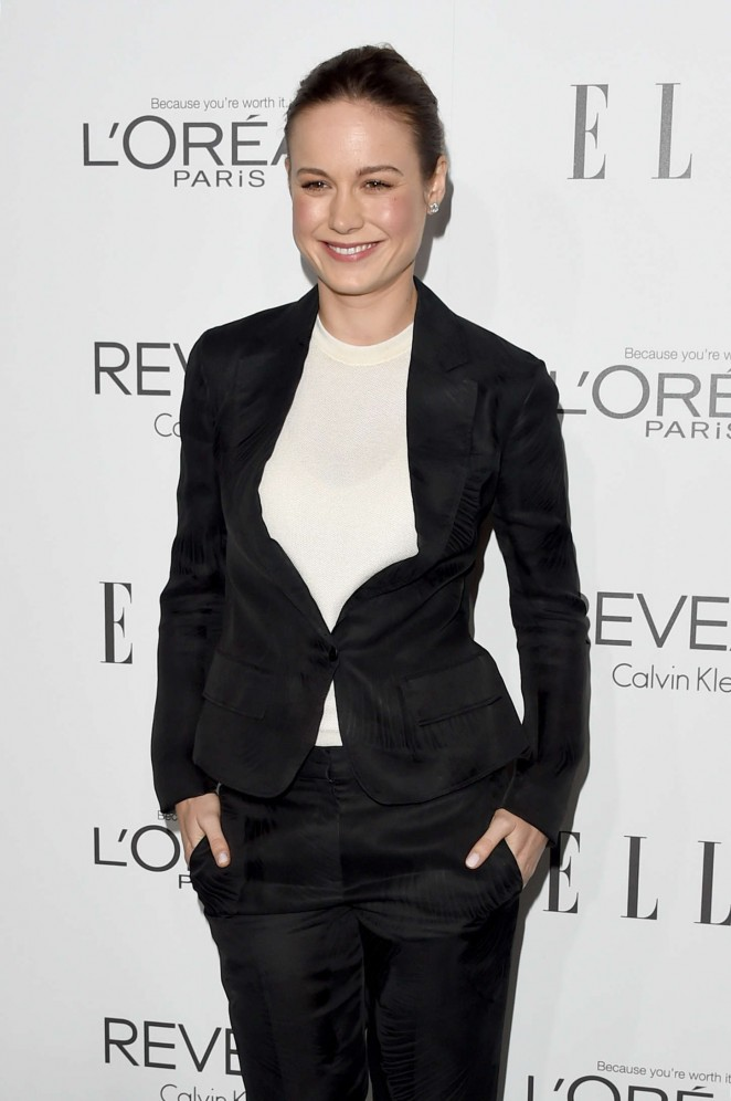 Brie Larson – ELLE's 21st annual Women In Hollywood Awards in LA
