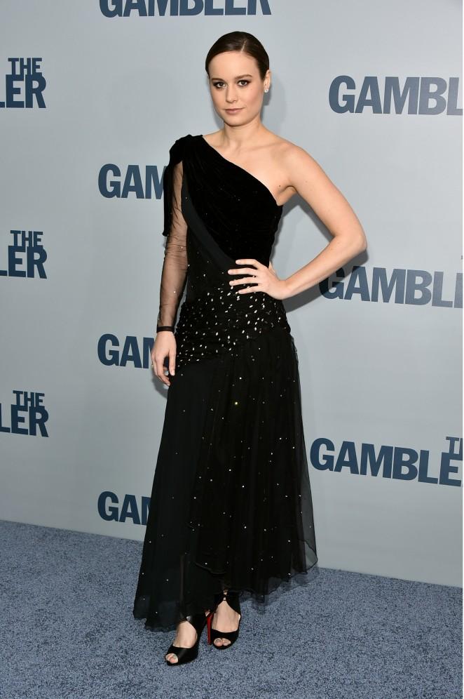 "Brie Larson - ""The Gambler"" Premiere in NY"