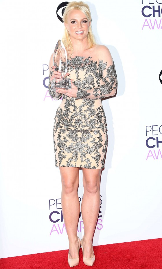 Britney Spears: 2014 Peoples Choice Awards -02