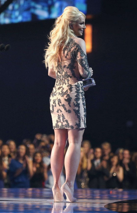 Britney Spears: 2014 Peoples Choice Awards -06