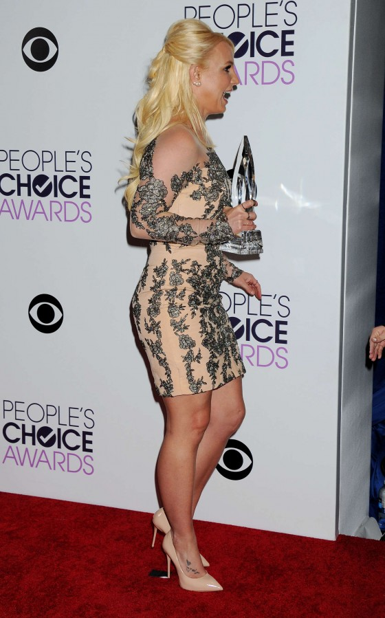 Britney Spears: 2014 Peoples Choice Awards -10