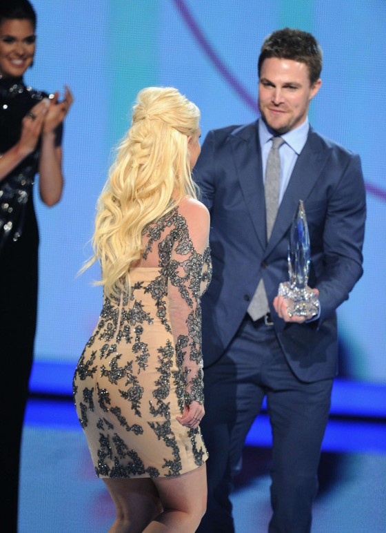 Britney Spears: 2014 Peoples Choice Awards -16