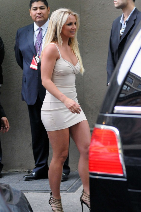Britney Spears at Fox Upfronts in New York-07