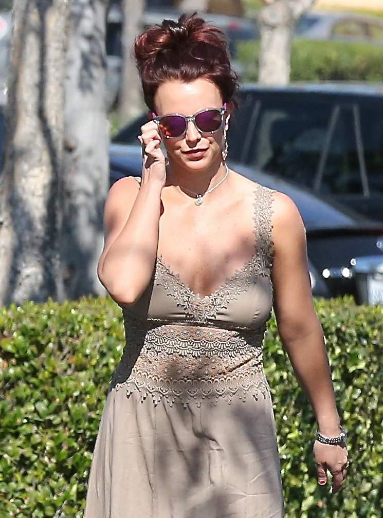 Sorry, that Britney spears braless