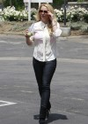 Britney Spears - Heads to a Tanning Salon in LA -31