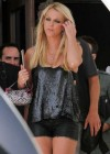 Britney Spears - In a Leather Shorts-02