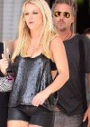 Britney Spears - In a Leather Shorts-05