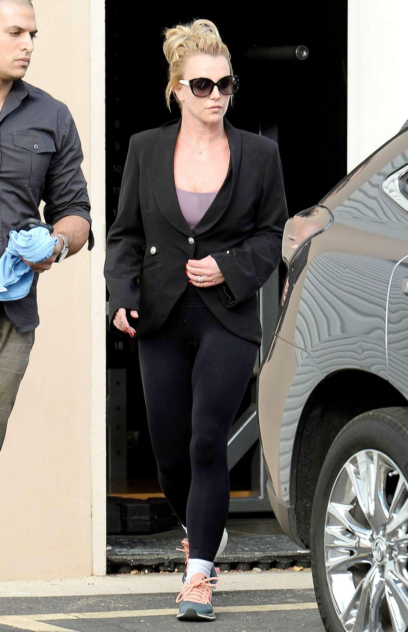 Britney Spears In Spandex 05 Gotceleb