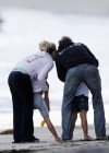 Britney Spears - has fun On a Malibu Beach with Family-57
