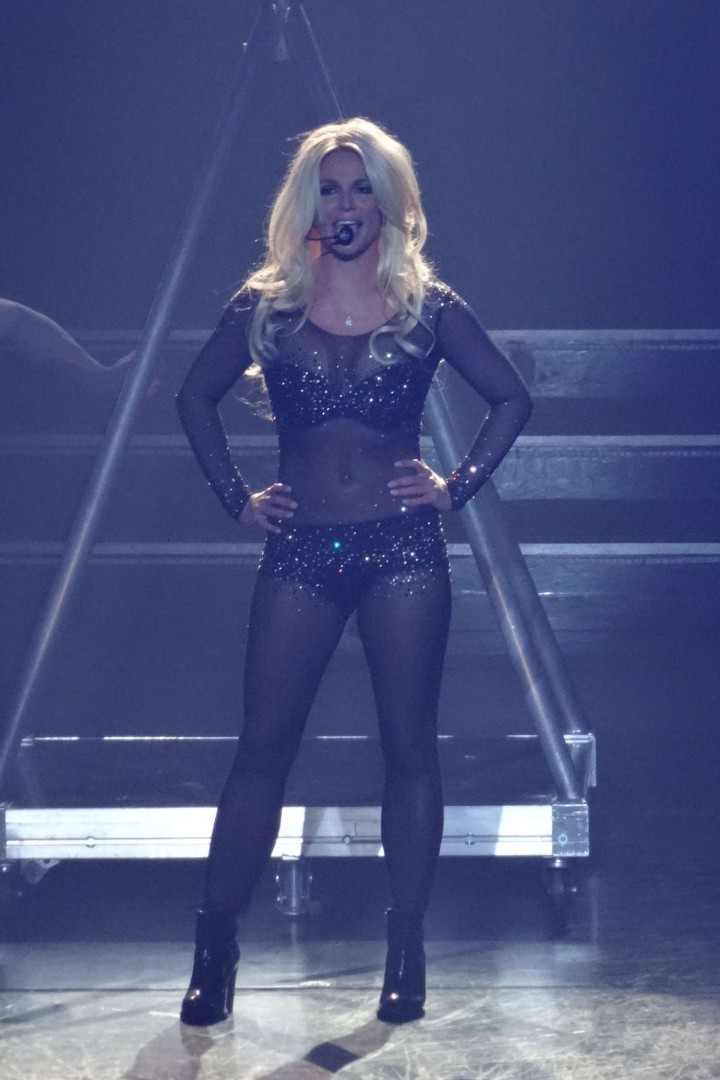 Britney Spears on stag...