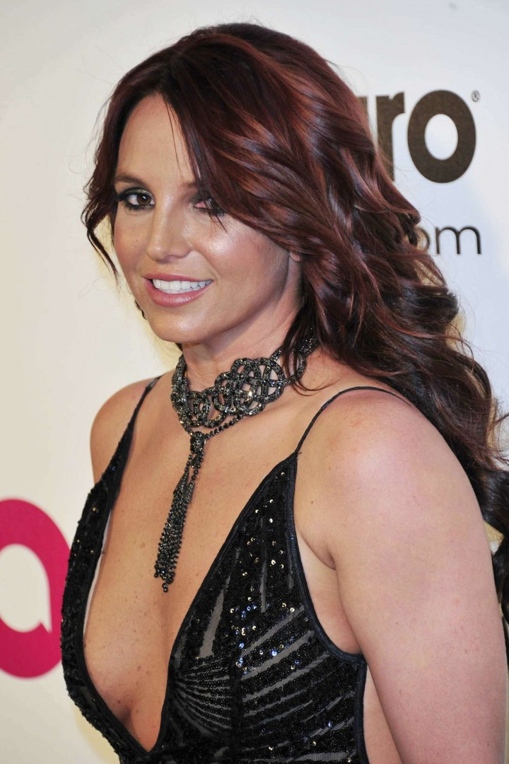 Britney Spears: 2013 Elton John AIDS Foundation Academy Awards Party -03