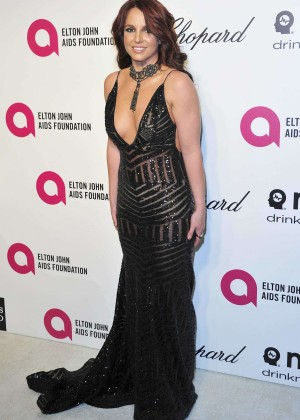Britney Spears: 2013 Elton John AIDS Foundation Academy Awards Party -06