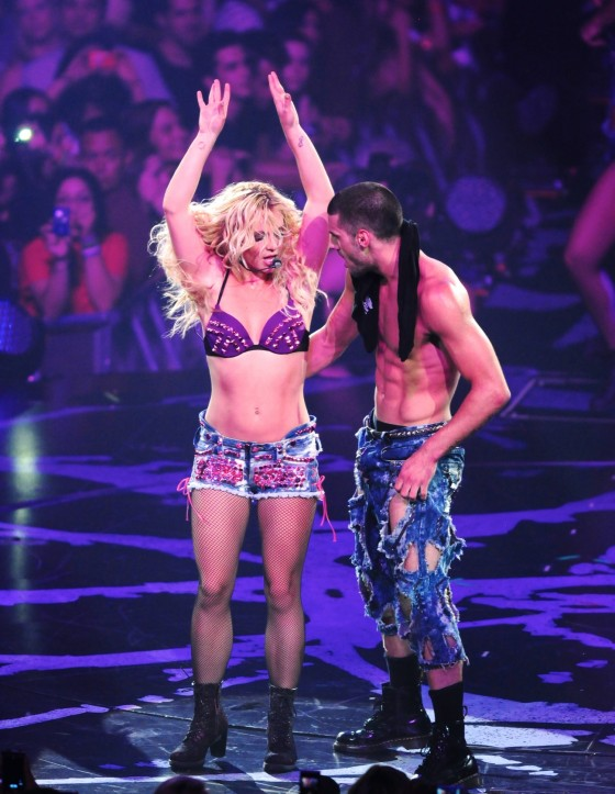 Britney Spears – Perform Live at Honda Center in Anaheim June 24