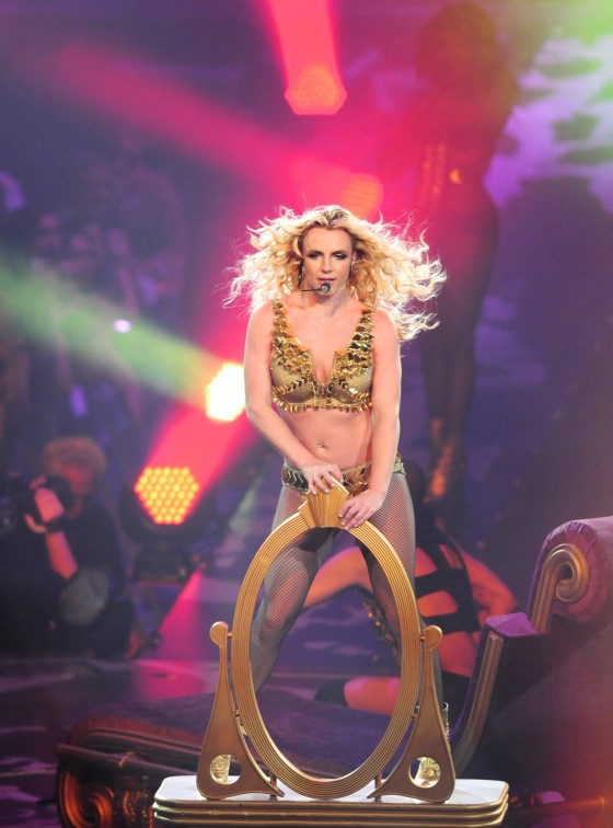 Britney Spears Perform Live at Honda Center in Anaheim – June 24-02