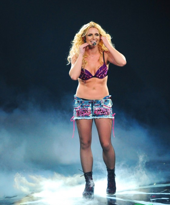 Britney Spears Perform Live at Honda Center in Anaheim – June 24-06