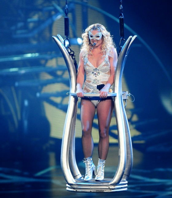 Britney Spears Perform Live at Honda Center in Anaheim – June 24-10