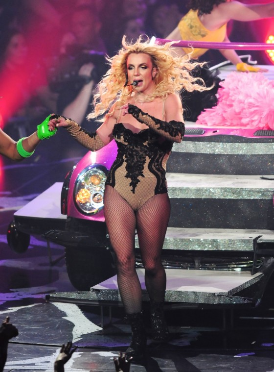 Britney Spears Perform Live at Honda Center in Anaheim – June 24-11