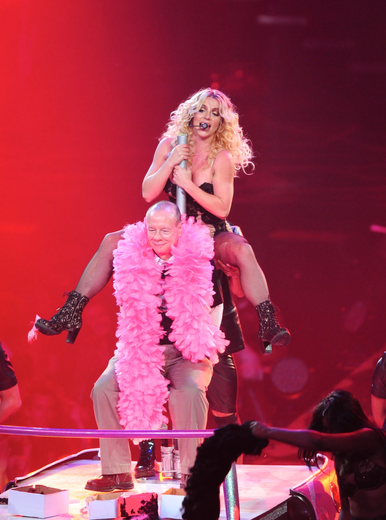 Honda Of Katy >> Britney Spears Perform Live at Honda Center in Anaheim - June 24-15 - GotCeleb