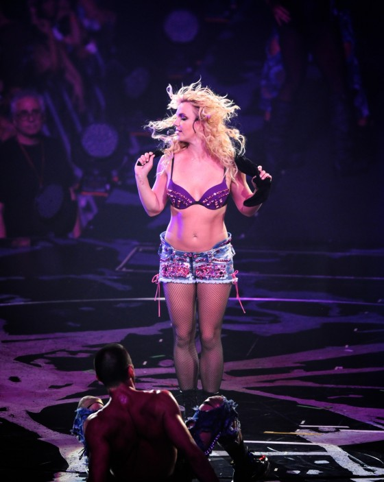 Britney Spears Perform Live at Honda Center in Anaheim – June 24-20
