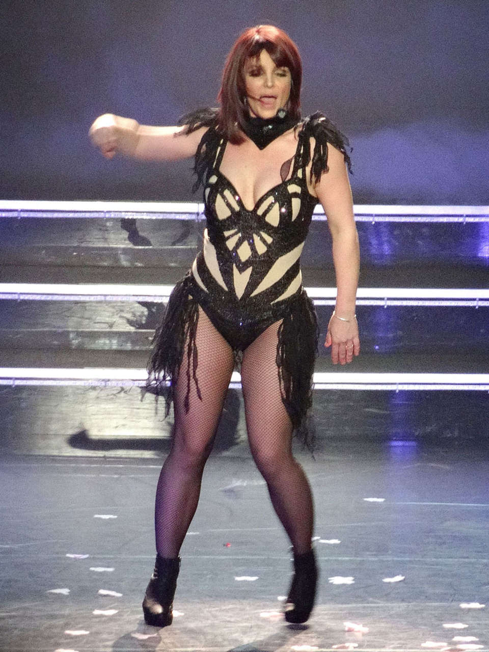 Britney Spears Piece Of Me Laser Pics -28 | GotCeleb