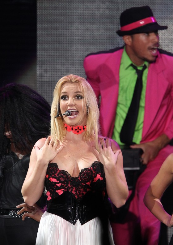 Britney Spears – Performs in Moscow -13
