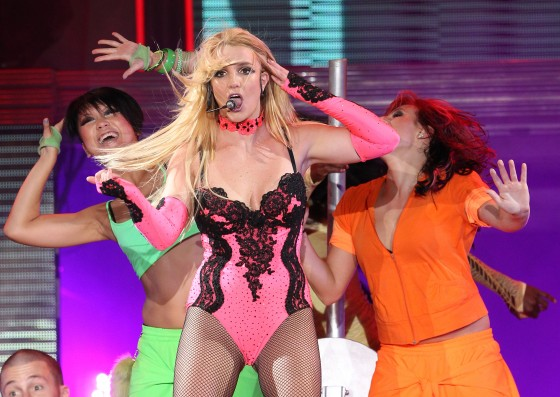 Britney Spears – Performs in Moscow -14