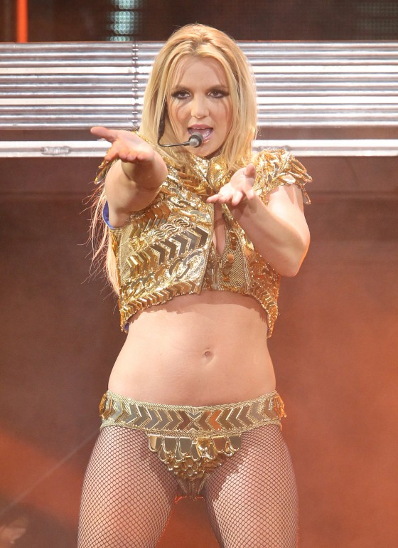 Britney Spears – Performs in Moscow -15