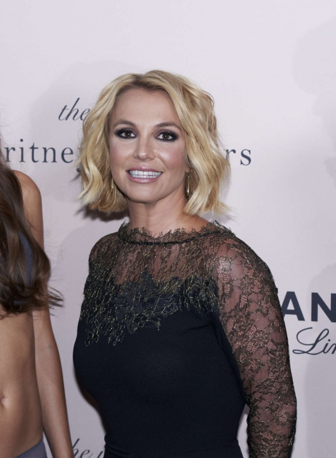 "Britney Spears - ""The Intimate Britney Spears"" Sleepwear Launch in Copenhagen"