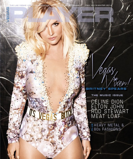 Britney Spears: Vegas Player Magazine Cover -01