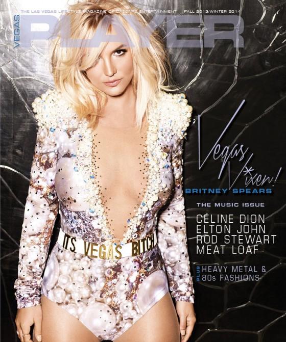 Britney Spears – Vegas Player Cover Magazine (Fall/Winter 2013)