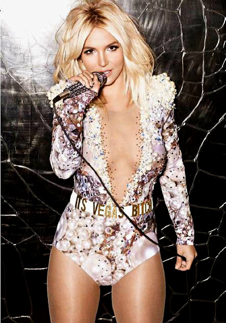 Britney Spears: Vegas Player Magazine Cover -02