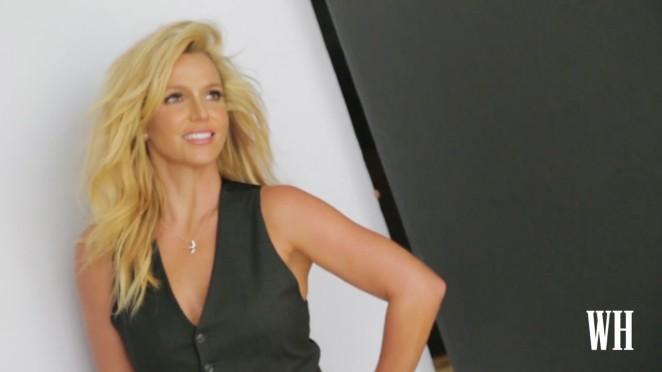 Britney Spears – Women's Health 2015 (Behind The Scene)