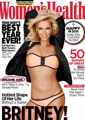 Britney Spears - Women's Health Magazine Cover (January 2015)